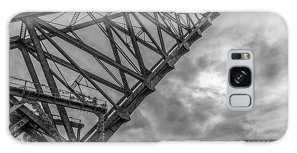 Jackknife Bridge To The Clouds B And W Galaxy Case