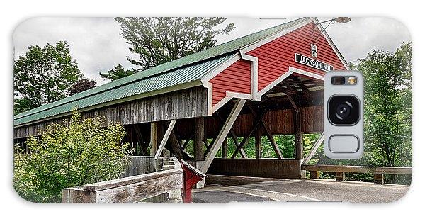 Jackson Covered Bridge Galaxy Case by Betty Denise