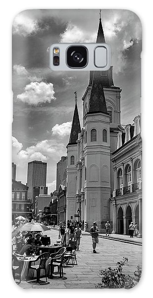 Jackson Square In Black And White Galaxy Case