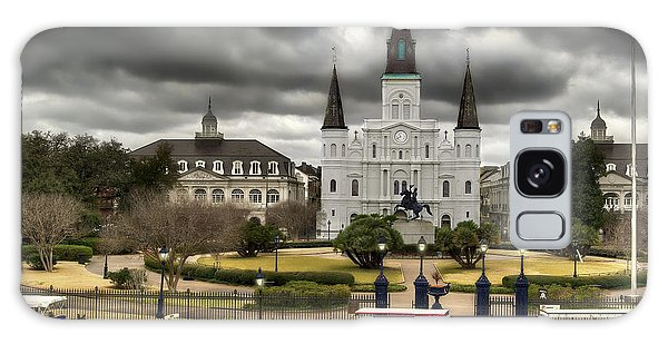 Jackson Square New Orleans Galaxy Case