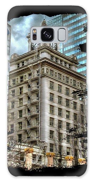 Jackson Tower Portland Oregon Galaxy Case