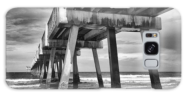 Jacksonville Beach Florida Usa Pier Galaxy Case
