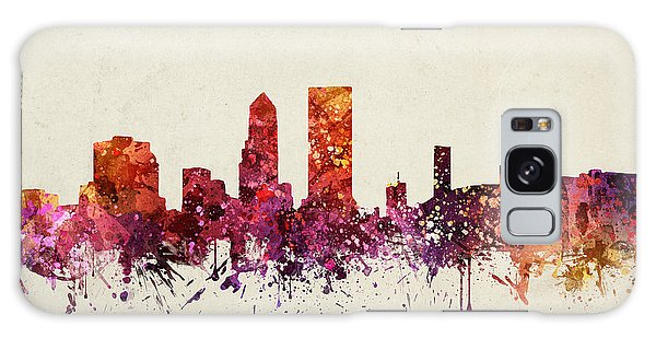 Colours Galaxy Case - Jacksonville Cityscape 09 by Aged Pixel