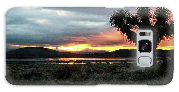 Jacob Tree Sunset - El Mirage Galaxy Case