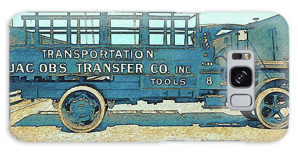 Jacobs Transfer Company 1917 White Truck Galaxy Case
