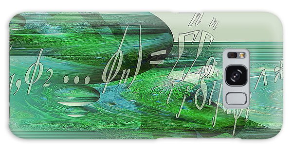 Galaxy Case featuring the photograph Jade Enigma by Robert G Kernodle