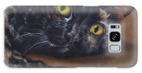 Calico Cat Galaxy Case - Jade by Lisa Phillips Owens