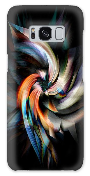 Jagged Twirl Galaxy Case