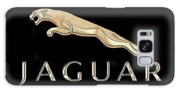 Jaguar Car Emblem Design Galaxy Case