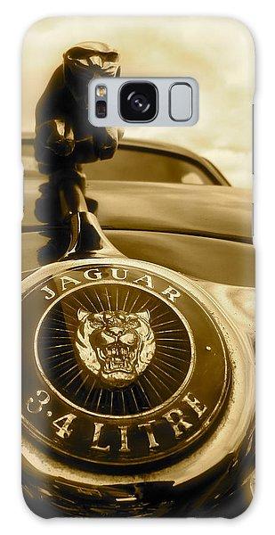 Jaguar Car Mascot Galaxy Case by John Colley