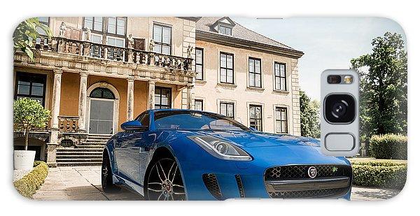 Jaguar F-type - Blue - Villa Galaxy Case