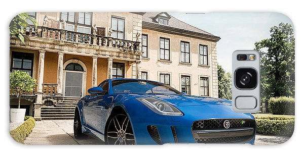 Jaguar F-type - Blue - Villa Galaxy Case