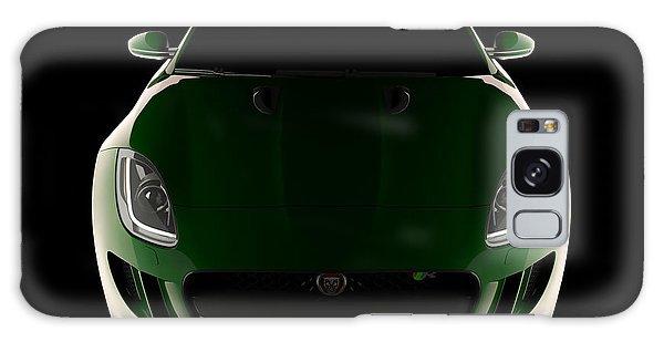 Jaguar F-type - Front View Galaxy Case