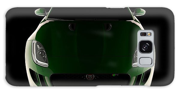 Jaguar F-type - Front View Galaxy Case