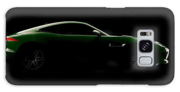 Jaguar F-type - Side View Galaxy Case