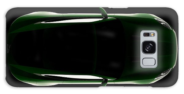 Jaguar F-type - Top View Galaxy Case