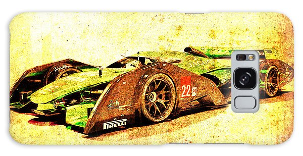 Sport Art Galaxy Case - Jaguar Le Mans 2015, Race Car, Fast Car, Gift For Men by Drawspots Illustrations