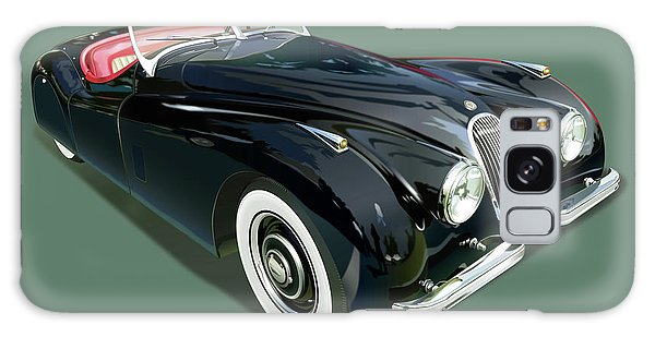Cultural Center Galaxy Case - Jaguar Xk 120 Illustration by Alain Jamar
