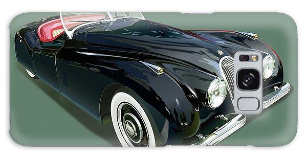 Jaguar Xk 120 Illustration Galaxy Case