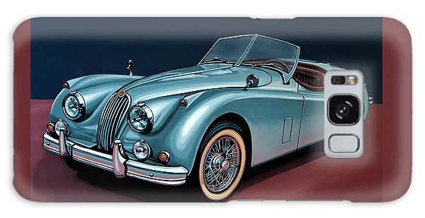 Jaguar Xk140 1954 Painting Galaxy Case