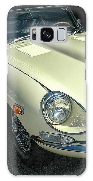 Jaguar Xke Roadster Galaxy Case by Dave Mills