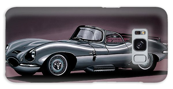 Automobile Galaxy Case - Jaguar Xkss 1957 Painting by Paul Meijering