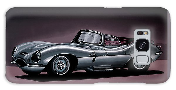 Jaguar Xkss 1957 Painting Galaxy Case