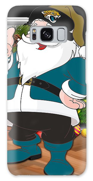 Santa Claus Galaxy Case - Jaguars Santa Claus by Joe Hamilton