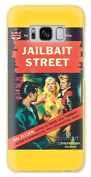 Jailbait Street Galaxy Case