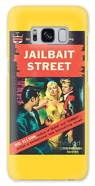 Jailbait Street Galaxy Case