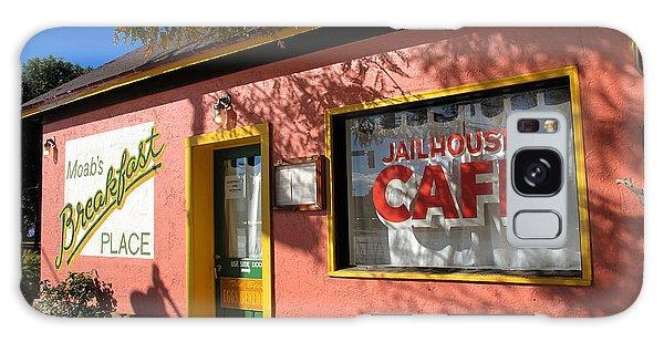 Jailhouse Cafe Moab Utah Galaxy Case