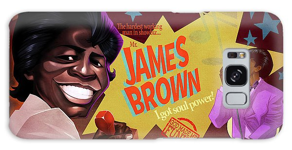 James Brown Galaxy Case by Nelson Dedos Garcia