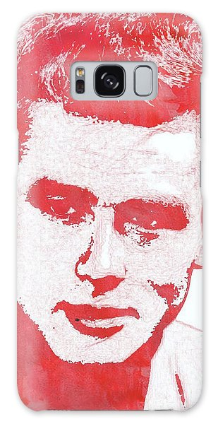 James Dean Pop Art Galaxy Case by Mary Bassett