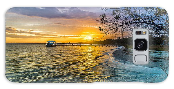 James Island Sunrise - Melton Peter Demetre Park Galaxy Case