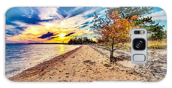 James River Sunset Galaxy Case