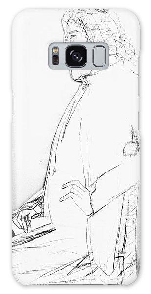James Whistler's Portrait Galaxy Case
