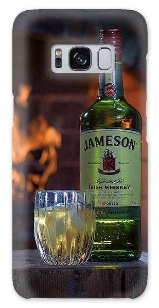 Jameson By The Fire Galaxy Case by Rick Berk