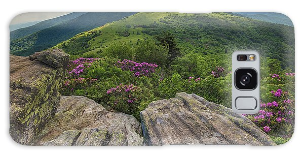 Jane Bald Rhododendrons Galaxy Case