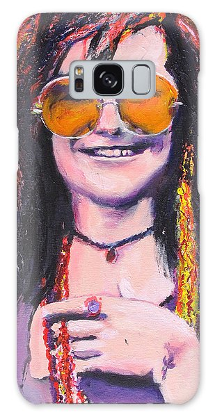 Janis Joplin 2 Galaxy Case by Eric Dee