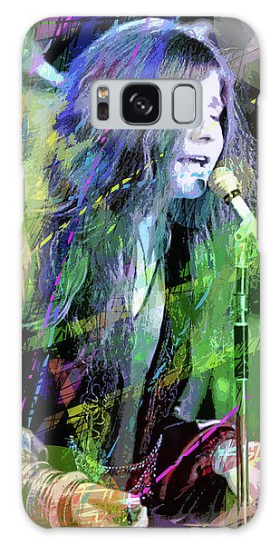 Janis Joplin Blue Galaxy Case