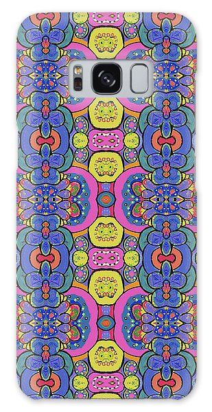 Galaxy Case featuring the painting Janis Would Have Liked This by Lisa Weedn