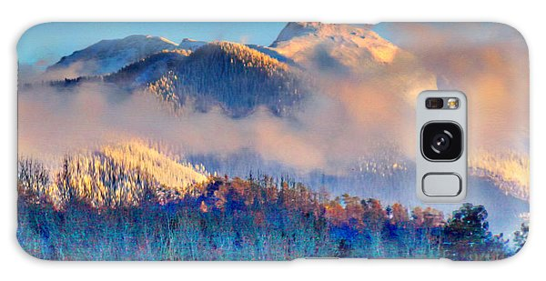 January Evening Truchas Peak Galaxy Case