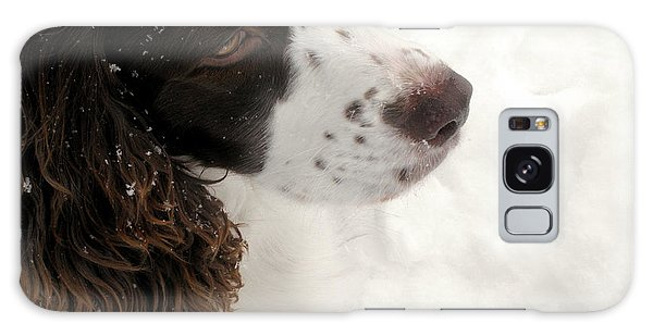 January Spaniel - English Springer Spaniel Galaxy Case