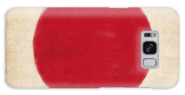 Patriotic Galaxy Case - Japan Flag by Setsiri Silapasuwanchai