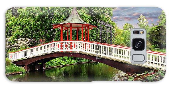 Japanese Bridge Garden Galaxy Case