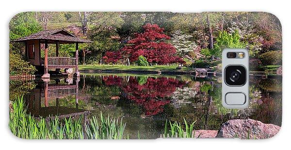 Japanese Garden At Maymont Galaxy Case by Rick Berk