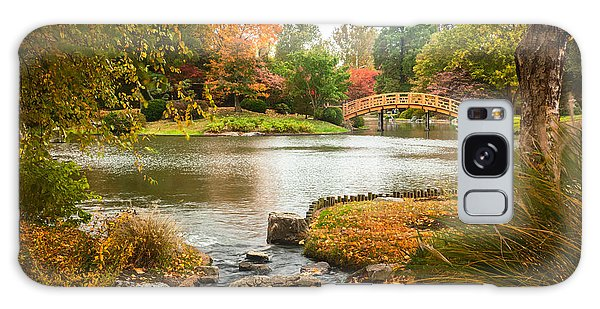 Japanese Garden Bridge Fall Galaxy Case
