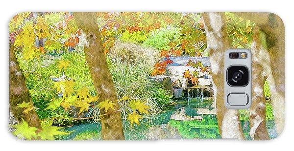 Japanese Garden Pond Galaxy Case