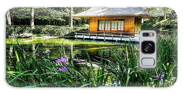 Japanese Gardens II Galaxy Case
