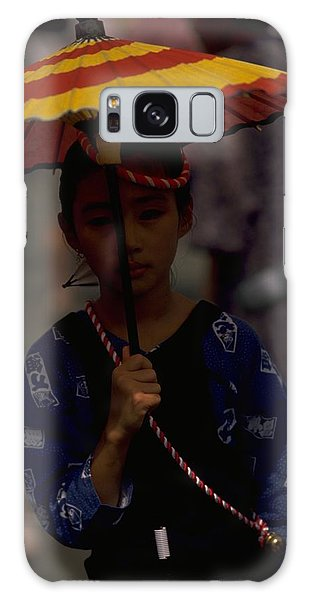 Japanese Girl Galaxy Case